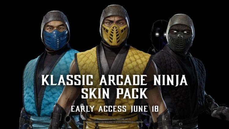 Mortal Kombat 11 Klassic Skins
