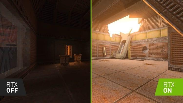 Quake Ii Rtx Comparison