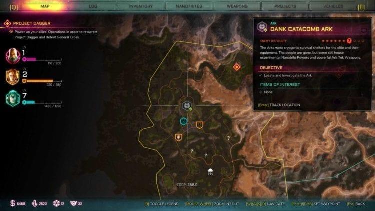 Rage 2 Dank Catacomb Ark Location