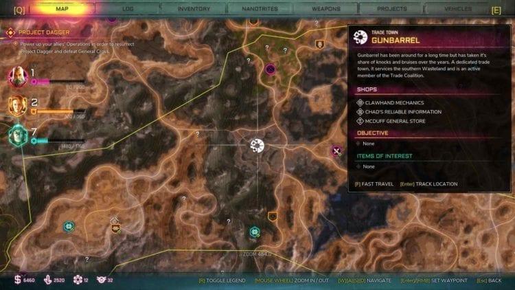 Rage 2 Gunbarrel Ark Location