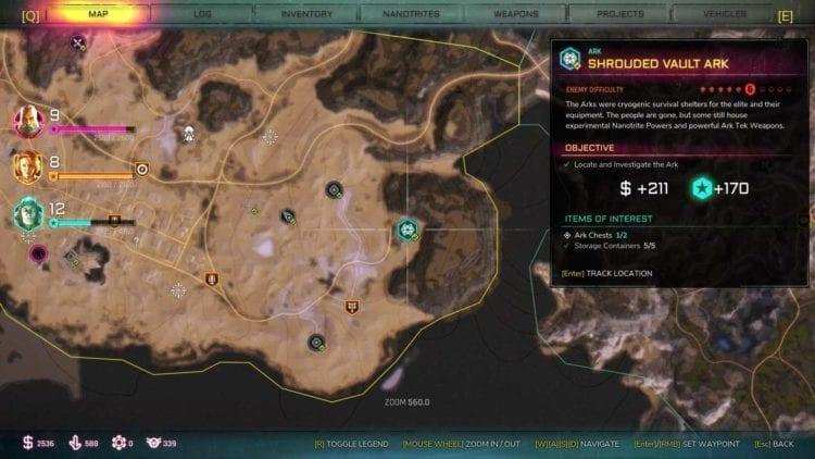 Rage 2 Shrouded Ark Location