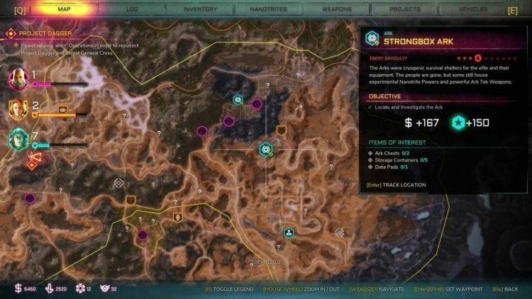 Rage 2 Strongbox Ark Location