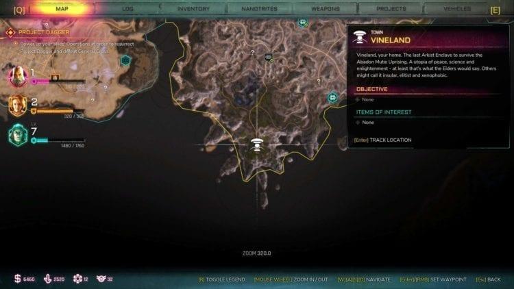 Rage 2 Vineland Ark Location