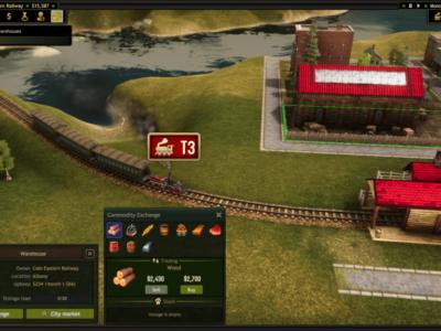 Railroad Corporation Steam Early Access Corbie Games