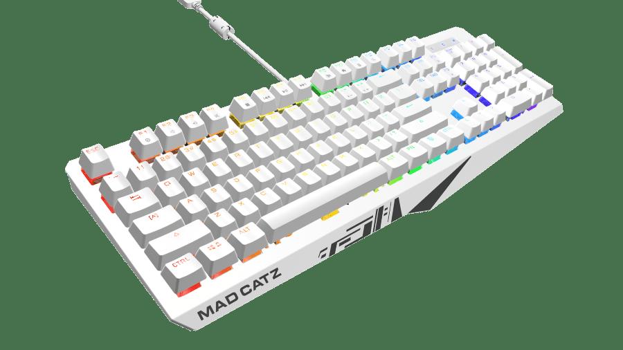 Mad Catz S.T.R.I.K.E. keyboard S.T.R.I.K.E.2 Strike 2 White 3