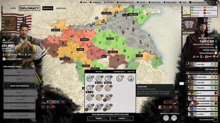 Cao Cao Annex Vassal