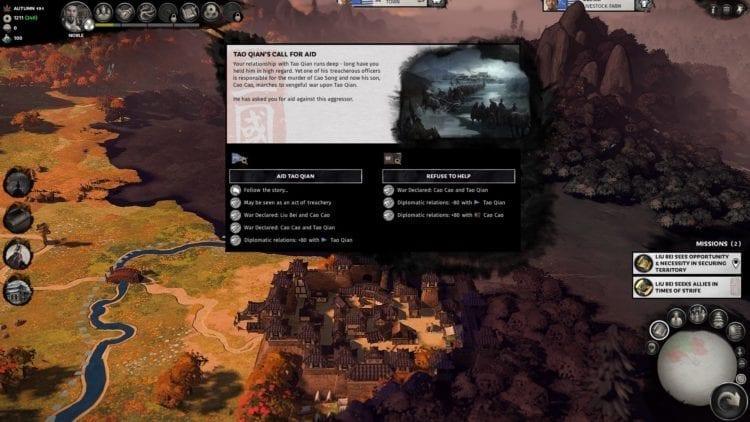 Total War Three Kingdoms Liu Bei Guide Faction Dilemma