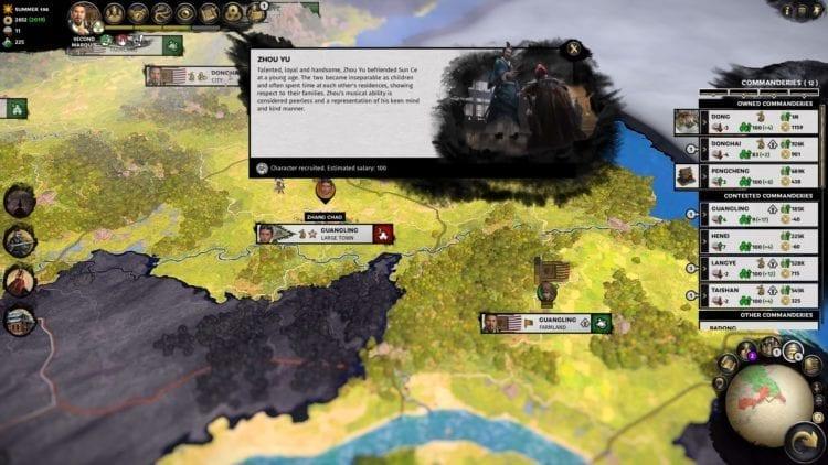 Total War Three Kingdoms Liu Bei Guide Zhou Yu Joins