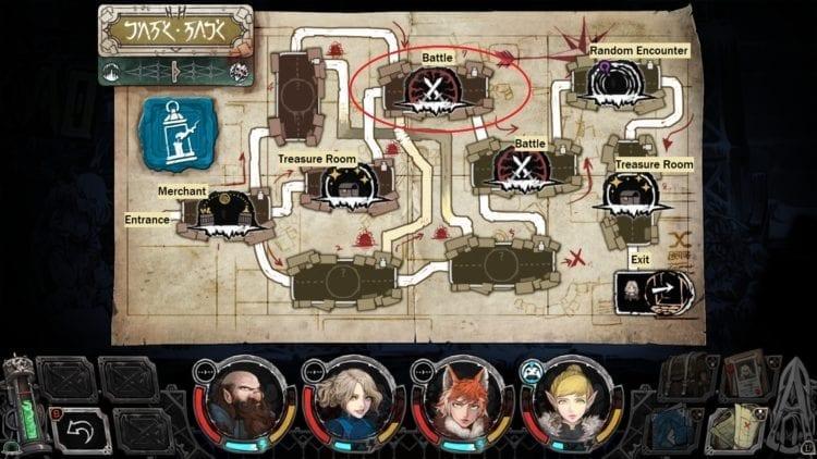 Vambrace Cold Soul Survival Guide Map