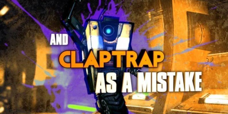 Borderlands Claptrap