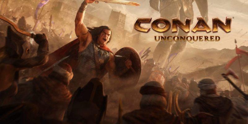 Conan Unconquered Keyart
