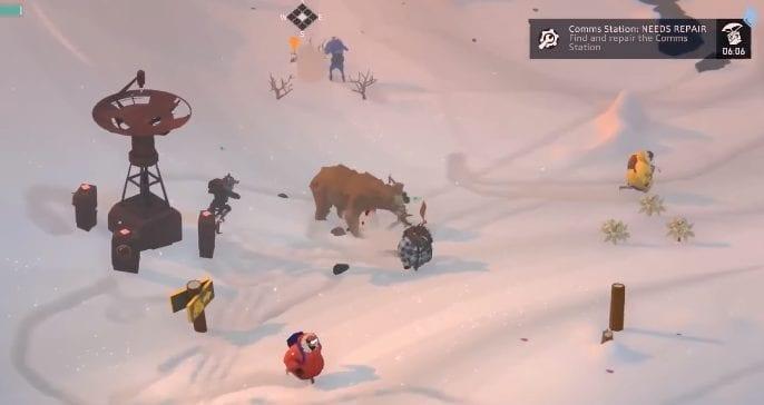 Killing bears in Project Winter