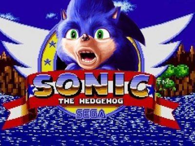 Sonic Movie Logo Feat sonic2020