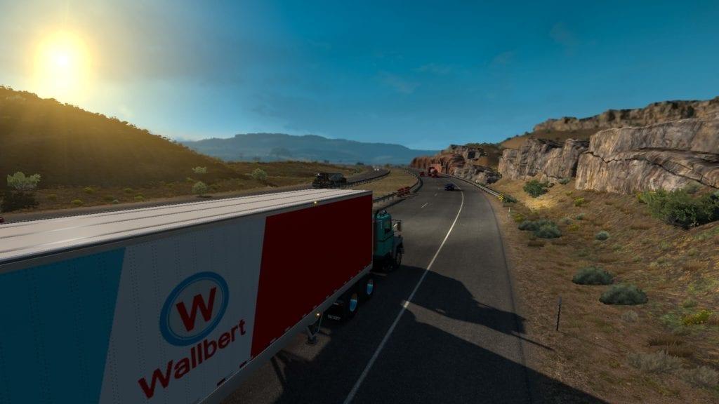 American Truck Simulator Washington Dry Drive