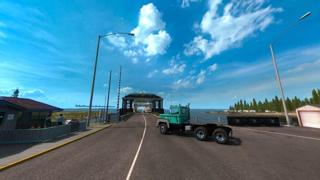 American Truck Simulator Washington Ferry