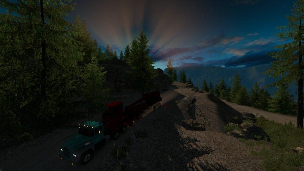 American Truck Simulator Washington Forestry Dlc