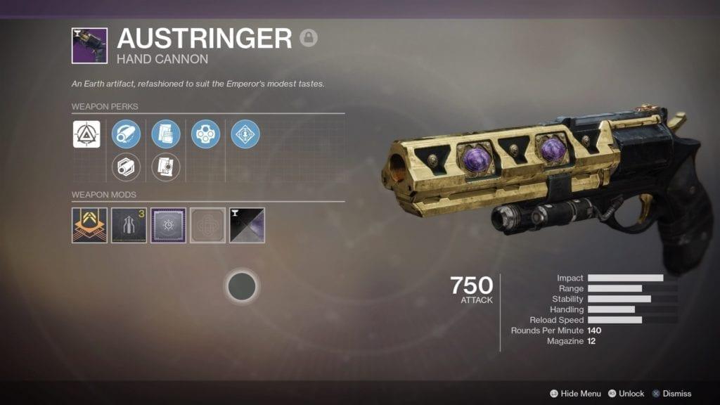 Destiny 2 rolls