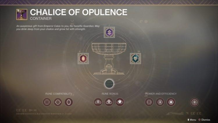 Destiny 2 Penumbra Season Of Opulence Menagerie Activity Chalice Of Opulence
