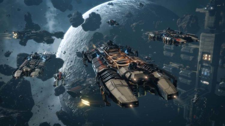 Eve Online Mining Fleet | CCP interview