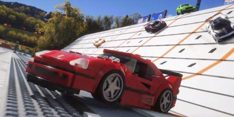 Forza Horizon 4 Lego Speed Champions Trailer Screen