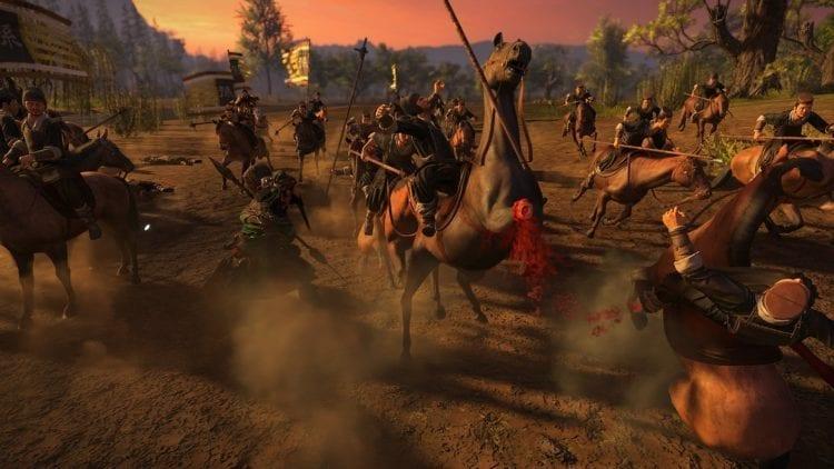 Guan Yu Horse Dismemberment
