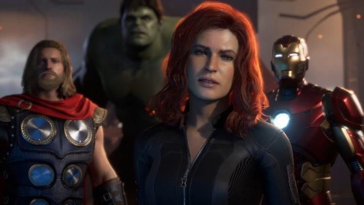 Marvel's Avengers E3 2019 Black Widow hero crystal dynamics co-op