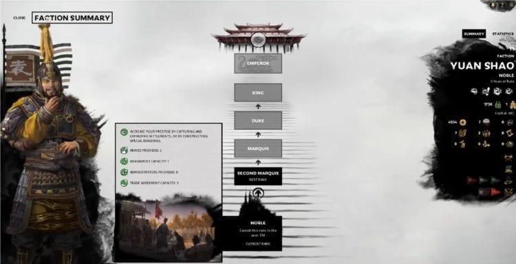 Total War Three Kingdoms Yuan Shao Vassal Nerf Patch