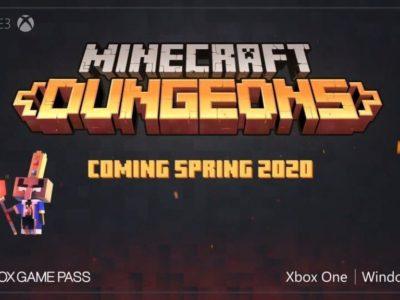 Minecraft Dungeons E3 2019