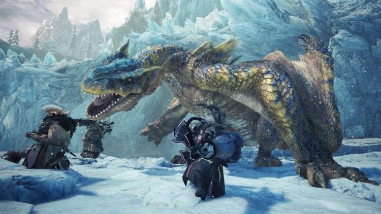 Monster Hunter World: Iceborne Tigrex capcom trailer expansion