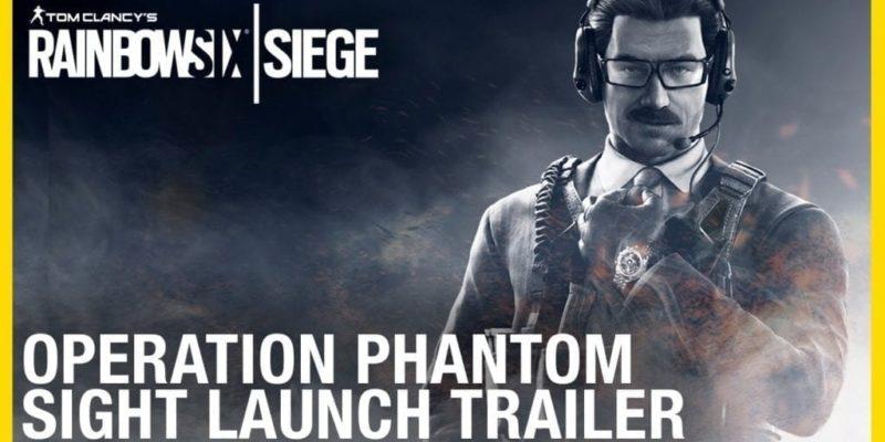 Rainbow Six Siege Operation Phantom Sight launch trailer image