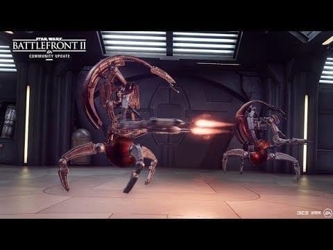 Star Wars Battlefront Ii Update Rolls Out Droidekas, Tx 130 Tank Next Week