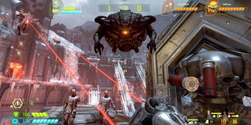 Doom Eternal Battlemode multiplayer from id Software / Bethesda