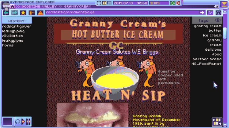Hypnospace Outlaw Granny Cream