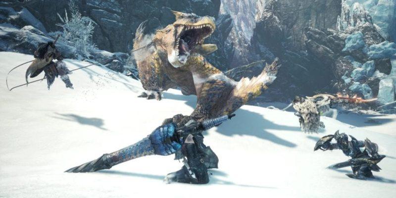 Monster Hunter World: Iceborne Anjanath Header