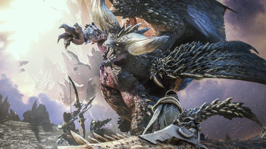 Monster Hunter: World login bonus from Capcom