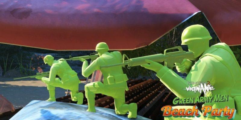 Rising Storm 2: Vietnam - Green Army Men Beach Party DLC pack