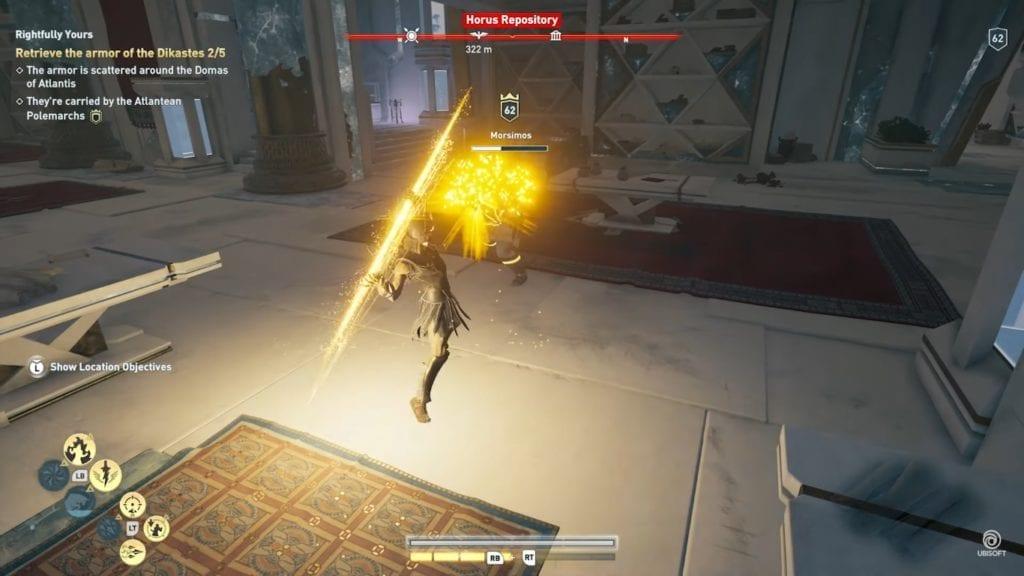 New Odyssey abilities