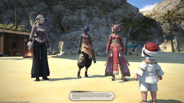 Final Fantasy 14 Shadowbringers Dancer 4