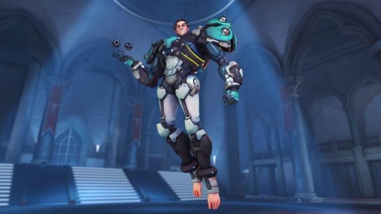 Overwatch Sigma Art Shot Feet PTR