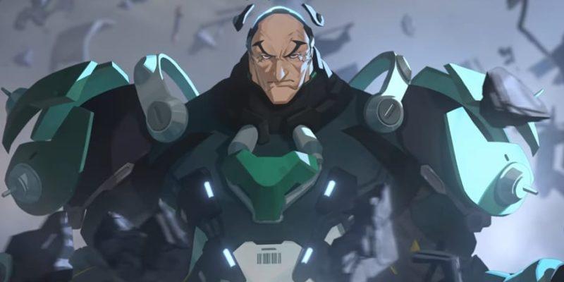 Overwatch Sigma Origin hero