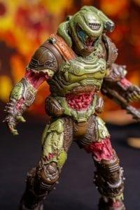 Zombie Doom Slayer Statue 3