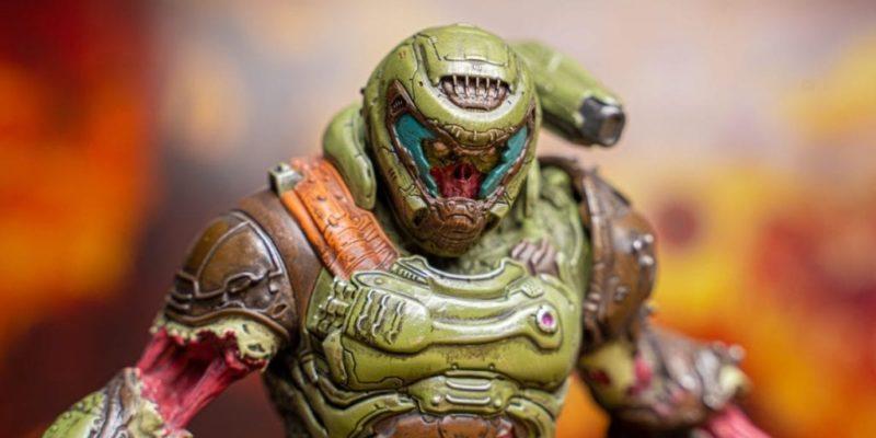 Zombie Doom Slayer Statue