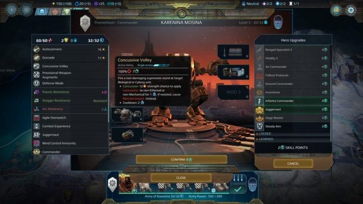 Age of Wonders Planetfall Руководство фракции Двар Командиры Двар Перки