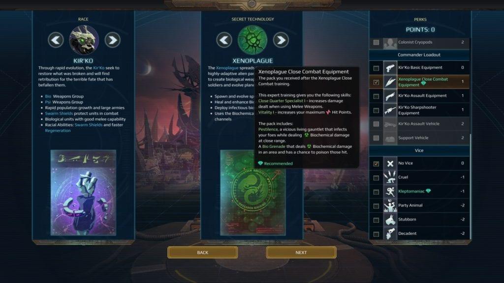 Age of Wonders: Planetfall - Kir'ko faction guide   PC Invasion