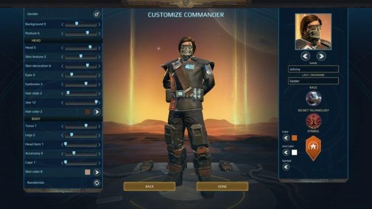 Age of Wonders Руководство по настройке персонажа Planetfall Расы Фракции Перки Внешний вид