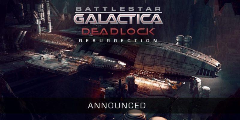 Battlestar Galactica Deadlock: Resurrection rises on August 29