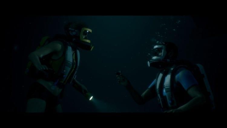 Man Of Medan Guide Normal Mode Walkthrough Everyone Survives Act 1 Dive Proposal