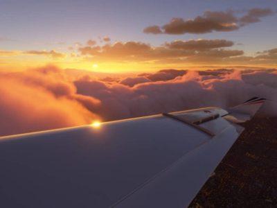 Microsft Flight Simulator 2020 Wing View