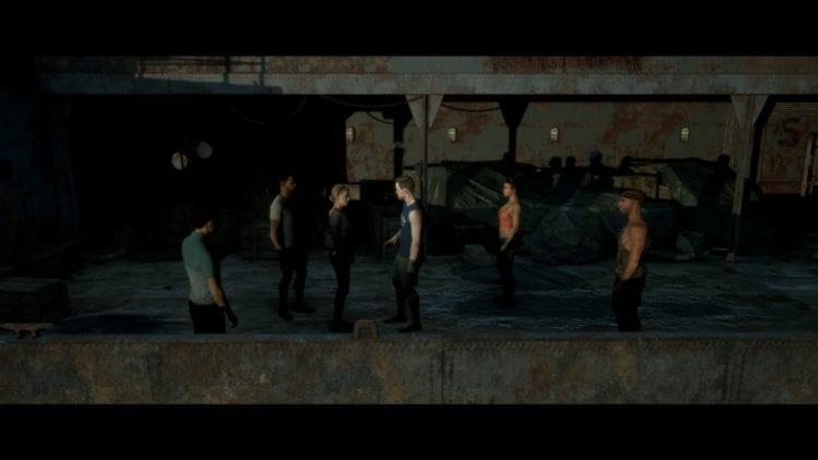 Open Deck Six Characters Including Junior - best ending