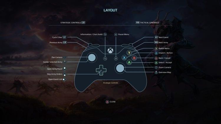 Options Gamepad